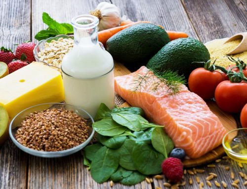 Healthy food can promote hair growth!